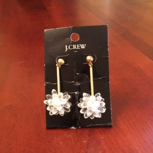 NWT - JCrew crystal drop earrings